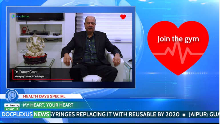 #WorldHeartDay campaign shown on Docplexus News