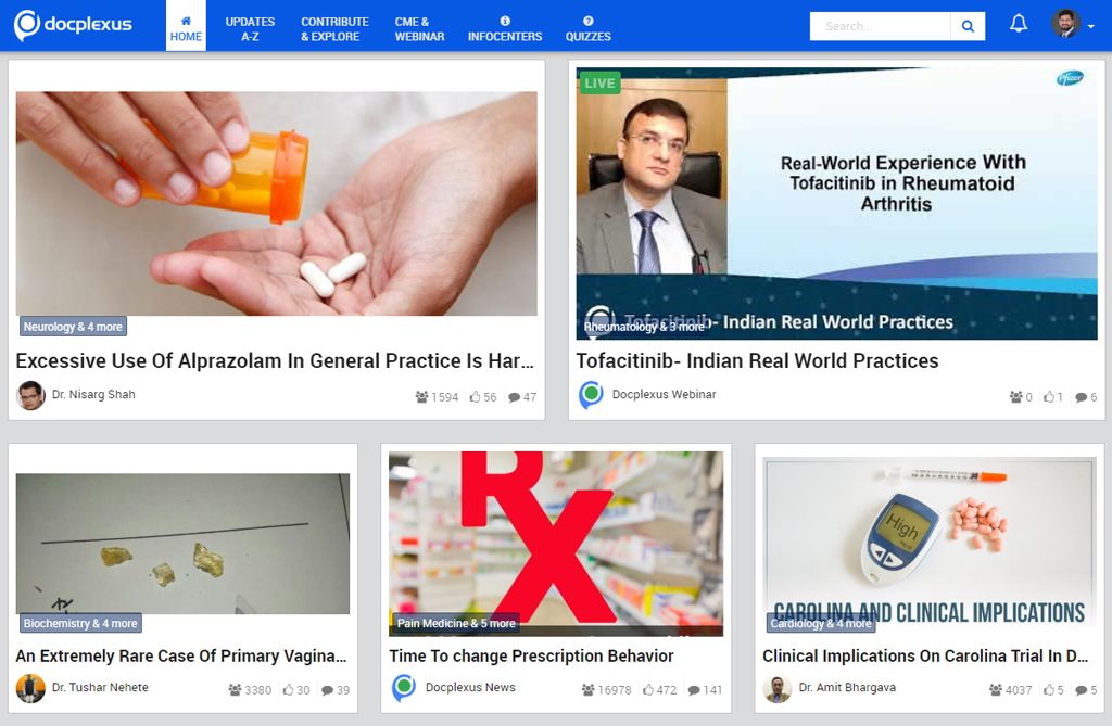 Docplexus Homepage World diabetes Day(Case study)