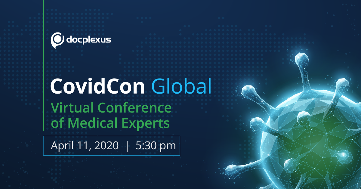 CovidCon 2020 – A Global Web Summit for Doctors