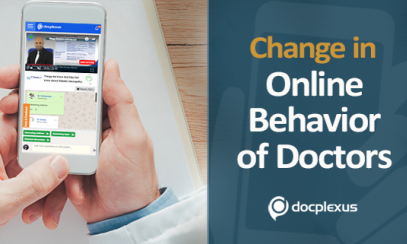 Analysis: How Online Behavior Of Doctors Has Evolved In The Last 5 Years