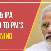 IMA & IPA Respond to PM's Warning to Pharma